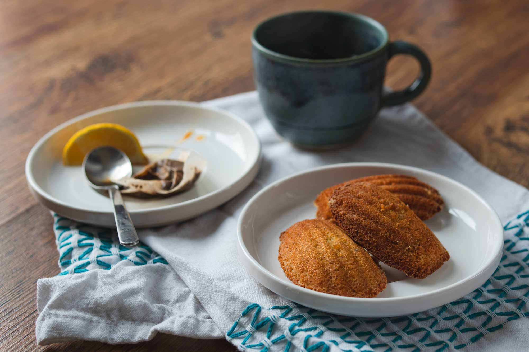 earl grey tea madeleines