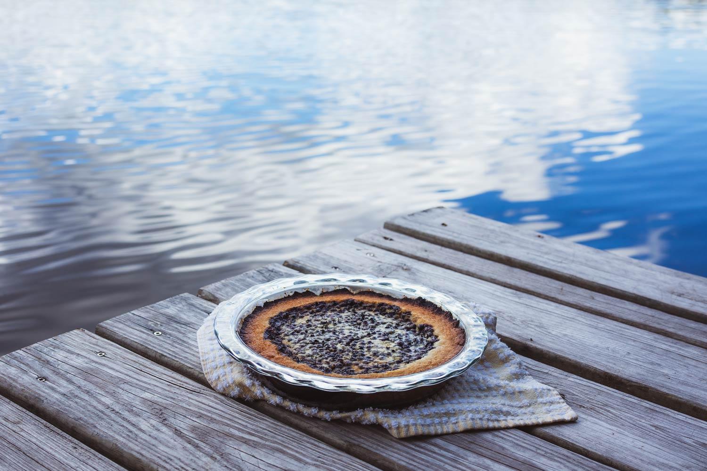 mustikkapiiraka finnish blueberry pie