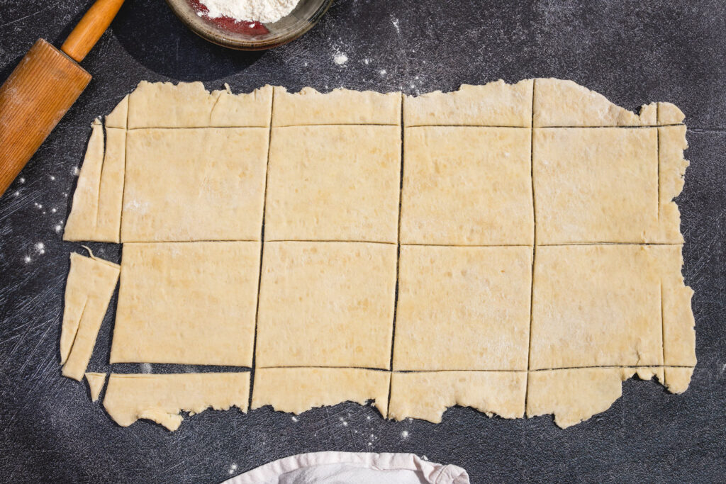 puff pastry squares for turnovers