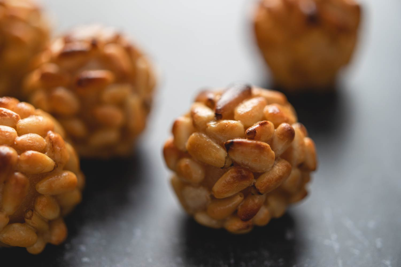 panellets: catalan pine nut cookies