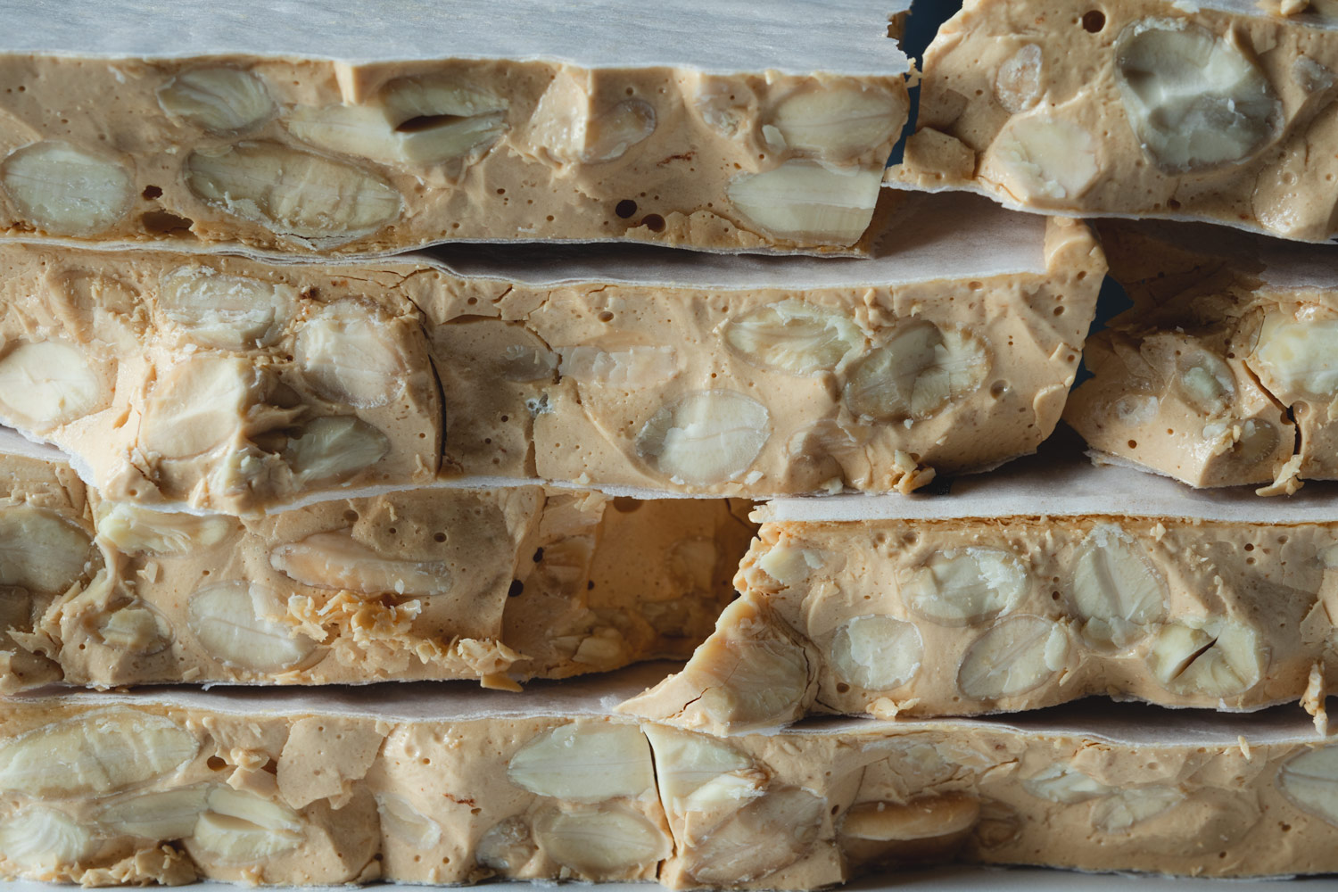 Turron de alicante, hard Spanish almond nougat