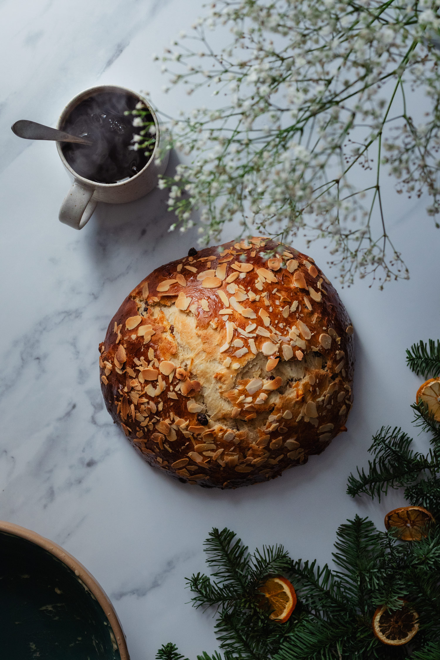 julekage norwegian christmas bread